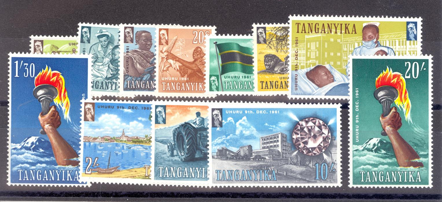 tanganyika green stamp value